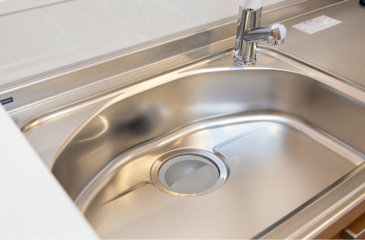 キッチンの水漏れ・つまり